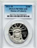 Modern Bullion Coins, 2011-W $100 One-Ounce Statue of Liberty PR70 Deep Cameo PCGS. PCGSPopulation (202). NGC Census: (352). Numismedia Wsl. Pr...