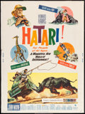 "Movie Posters:Adventure, Hatari! & Other Lot (Paramount, 1962). Posters (2) (30"" X 40"").Adventure.. ... (Total: 2 Items)"