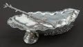 Silver Holloware, American:Open Salts, A GORHAM SILVER SHELL-FORM MASTER SALT AND SPOON. GorhamManufacturing Co., Providence, Rhode Island, circa 1896. Marks:(li... (Total: 2 )