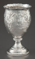 Silver Holloware, American:Coin Silver, A GALE & HAYDEN COIN SILVER GOBLET . Gale & Hayden, NewYork, New York, circa 1850. Marks: G & H, 148S (indiamond), G...