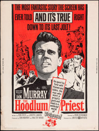 "The Hoodlum Priest and Others Lot (United Artists, 1961). Posters (3) (30"" X 40""). Drama. ... (Total: 3 Item)"