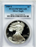 Modern Bullion Coins: , 1989-S $1 Silver Eagle PR70 Deep Cameo PCGS. PCGS Population (800).NGC Census: (836). Mintage: 617,694. Numismedia Wsl. Pr...