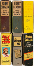 Big Little Book:Miscellaneous, Big Little Book Western Related Group (Whitman, 1930s) Condition:Average VF.... (Total: 6 Comic Books)