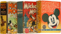 Big Little Book:Miscellaneous, Big Little Book Mickey Mouse Group (Whitman, 1930s) Condition:Average VG/FN.... (Total: 3 Comic Books)
