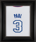 "Basketball Collectibles:Uniforms, Chris Paul ""ROY '06"" Signed Jersey...."
