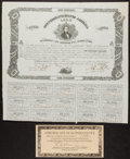 Confederate Notes:Group Lots, Ball 73 Cr. 33 $100 1861 Bond Very Fine.. ...