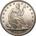 Seated Half Dollars, 1889 50C MS66 PCGS....