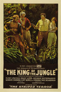 """Movie Posters:Adventure, King of the Jungle (Rayart Pictures, 1927). One Sheet (27"""" X 41"""").Elmo Lincoln turned away from the movie industry after hi..."""
