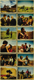 """Movie Posters:Western, The Searchers (Warner Brothers, 1956). Color Still Set of (12) (8"""" X 10""""). John Wayne gives the performance of his career, i... (Total: 12 Items)"""