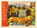 "Movie Posters:Western, She Wore a Yellow Ribbon (RKO, 1949). Half Sheet (22"" X 28""). JohnFord's steady hand and John Wayne's fine acting make this..."