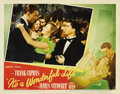 """Movie Posters:Drama, It's a Wonderful Life (RKO, 1946). Lobby Card (11"""" X 14""""). JamesStewart and Donna Reed star in this Frank Capra directed ho..."""