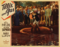 """Tillie and Gus (Paramount, 1933). Lobby Card (11"""" X 14""""). Another great shot of W. C. Fields at his comic best..."""