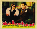 """Movie Posters:Comedy, Many Happy Returns (Columbia, 1934). Lobby Cards (3) (11"""" X 14""""). George Burns and Gracie Allen were exceedingly popular at ... (Total: 3 Items)"""