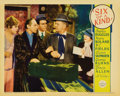 """Movie Posters:Comedy, Six of a Kind (Paramount, 1934). Lobby Card (11"""" X 14""""). Wonderfulscene from this W.C. Fields comedy. Also seen on the card..."""