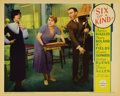 "Movie Posters:Comedy, Six of a Kind (Paramount, 1934). Lobby Cards (3) (11"" X 14""). LeoMcCarey directs this comedy starring W.C. Fields, Burns an...(Total: 3 Items)"