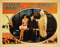 "Movie Posters:Comedy, The Circus (United Artists, 1928). Lobby Card (11"" X 14""). This card shows Chaplin with Merna Kennedy, as Henry Bergman /the..."