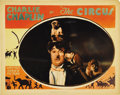 """Movie Posters:Comedy, The Circus (United Artists, 1928). Lobby Card (11"""" X 14""""). Greatclose-up of our hero, Charlie Chaplin, as he walks the high..."""