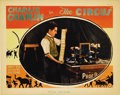 "Movie Posters:Comedy, The Circus (United Artists, 1928). Lobby Card (11"" X 14"").Wonderful card of Chaplin juggling a deck of cards. The captionr..."