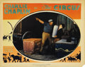 "Movie Posters:Comedy, The Circus (United Artists, 1928). Lobby Card (11"" X 14""). Chaplincarries a stack of dishes in this comedy classic. The car..."