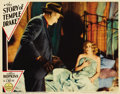 """Movie Posters:Film Noir, The Story of Temple Drake (Paramount, 1933). Lobby Card (11"""" X14""""). Based on William Faulkner's novel, """"Sanctuary,"""" this pr..."""