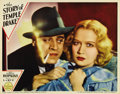 """Movie Posters:Film Noir, The Story of Temple Drake (Paramount, 1933). Lobby Card (11"""" X14""""). Miriam Hopkins plays the title role, the promiscuous da..."""