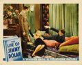 """Movie Posters:Drama, The Life of Jimmy Dolan (Warner Brothers, 1933). Lobby Cards (2)(11"""" X 14""""). Two scenes from the opening of this classic fi...(Total: 2 Items)"""