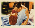 "Movie Posters:Drama, The Life of Jimmy Dolan (Warner Brothers, 1933). Lobby Cards (2)(11"" X 14""). Two great cards for this classic Warner Brothe...(Total: 2 Items)"