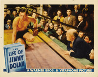 """The Life of Jimmy Dolan (Warner Brothers, 1933). Lobby Cards (3) (11"""" X 14""""). Here are three great cards in ab..."""