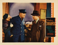 """Ladies They Talk About (Warner Brothers, 1933). Lobby Card (3) (11"""" X 14""""). This little production fit right i..."""