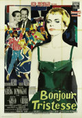 """Movie Posters:Drama, Bonjour Tristesse (Columbia, 1958). Italian 4 - Folio (55"""" X 78"""").This stylishly directed Otto Preminger film about a young..."""
