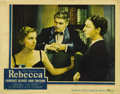"""Movie Posters:Hitchcock, Rebecca (United Artists, 1940). Lobby Card (11"""" X 14""""). Niceoriginal release card to the Academy Award winning Hitchcock fi..."""