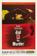 "Movie Posters:Hitchcock, Dial M For Murder (Warner Brothers, 1954). One Sheet (27"" X 41"").Based on the popular mystery play by Frederick Knott, Grac..."