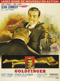 "Movie Posters:Action, Goldfinger (United Artists, 1964). French Grande (47"" X 63""). SeanConnery reprised his role as Ian Fleming's master spy Jam..."