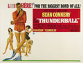 "Movie Posters:Action, Thunderball (United Artists, 1965). Subway (41"" X 54""). SeanConnery has to save the world from S.P.E.C.T.R.E. and their hij..."