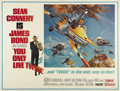 "Movie Posters:Action, You Only Live Twice (United Artists, 1967). Subway (41"" X 54""). Sean Connery as James Bond goes to Japan to keep the U.S. an..."