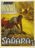 "Movie Posters:War, Sahara (Columbia, 1943). Italian 2 - Folio (39"" X 55""). AnselmoBallester, one of the great Italian cartellonisti has do..."