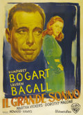 "Movie Posters:Film Noir, The Big Sleep (Warner Brothers, 1946). Italian 4 - Folio (55"" X78""). Luigi Martinati held a long reign as Warner Brothers' ..."
