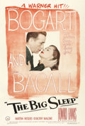 "Movie Posters:Film Noir, The Big Sleep (Warner Brothers, 1946). One Sheet (27"" X 41""). Oneof the best, noirs of Bogie's career. Humphrey Bogart ..."