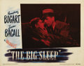 "Movie Posters:Film Noir, The Big Sleep (Warner Brothers, 1946). Lobby Card (11"" X 14""). With'Best of Set' status, the #5 classic back seat clinch sc..."
