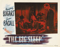 """Movie Posters:Film Noir, The Big Sleep (Warner Brothers, 1946). Lobby Card (11"""" X 14""""). The#4 card is a great closeup, with a somewhat subtle moment..."""