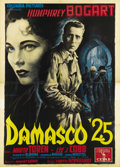 "Movie Posters:Drama, Sirocco (Columbia, 1951). Italian 4 - Folio (55"" X 78""). AnselmoBallester created one of his true masterpieces with this st..."