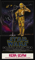"Movie Posters:Science Fiction, Star Wars (20th Century Fox, 1981) National Public RadioPromotional Poster (29"" X 17""). Artist Celia Strain. Perry Kingscr..."