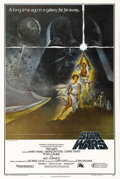 "Movie Posters:Science Fiction, Star Wars (20th Century Fox, 1977). One Sheet (27"" X 41"") Style A.Perhaps the most famous image from the entire ""Star Wars""..."
