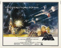 "Movie Posters:Science Fiction, Star Wars (20th Century Fox, 1977). Half Sheet (22"" X 28""). Thishalf sheet features wonderful alternative artwork from the ..."