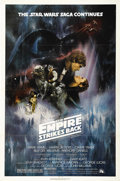 "Movie Posters:Science Fiction, The Empire Strikes Back (20th Century Fox, 1980). One Sheet (27"" X41"") Style A. Arguably the best of the ""Star Wars"" saga, ..."