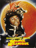 "A Clockwork Orange (Warner Brothers, R-1981). French Grande (47"" X 63""). In a future society, Alex and his Dro..."