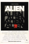 "Movie Posters:Science Fiction, Alien (20th Century Fox, 1979). One Sheet (27"" X 41"") Advance. Veryrare advance style for one of the top ground-breaking sc..."
