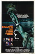 "Movie Posters:Action, Escape from New York (AVCO Embassy Pictures, 1981). One Sheet (27""X 41"") Advance. In a future world where Manhattan has bec..."
