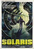 "Movie Posters:Science Fiction, Solaris (Magna, 1974). Italian 4 - Folio (55"" X 78""). Premiering atthe Cannes Film Festival in 1972, this science fiction e..."