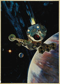 """Movie Posters:Science Fiction, 2001: A Space Odyssey (MGM, 1968). Poster (40"""" X 60""""). Offered inthis lot is a rare glossy stock large format display for t..."""
